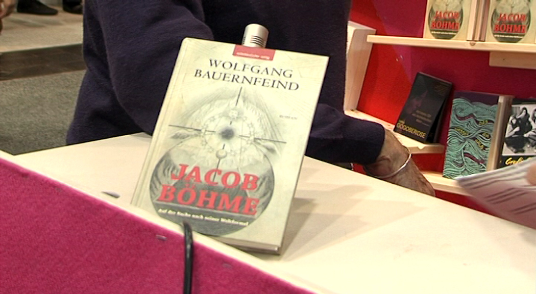 "Buchmesse Wolfgang Bauernfeind ""Jacob Böhme"""